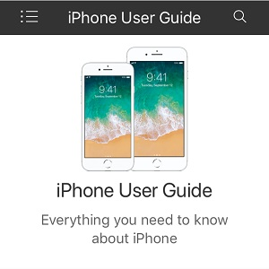 ios 11 iphone user guide