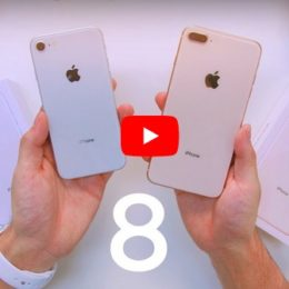 iphone 8 and 8 plus unboxing video thumbnail