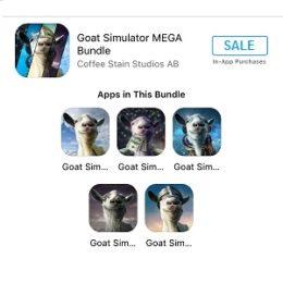 goat simulator app store sale