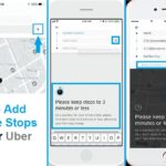 how to add multiple destinations to uber trip