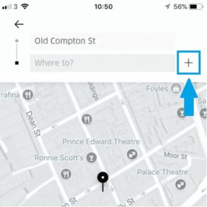 how to add multiple stops to uber ride