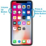 how to screenshot the iphone x
