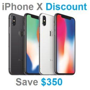 iphone x discount