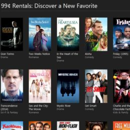 itunes hd movies for rent for 99 cents