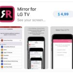 mirror for lg tv app store