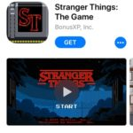 stranger things ios game