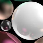 Apple iPhone X Christmas balls wallpaper