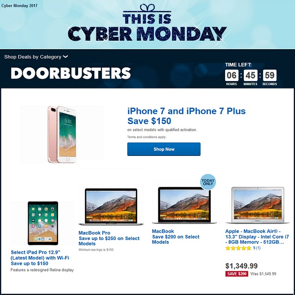 15 Must Check Best Buy Cyber Monday Deals For Iphone Apple Watch Ipad And Macbook