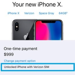 how to purchase an unlocked iphone x from apple online store