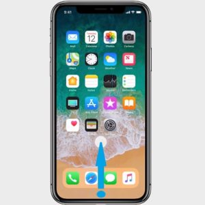 iphone x app switcher gesture