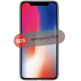 iphone x emergency sos