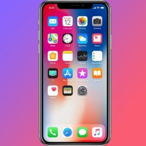 iphone x super retina oled display
