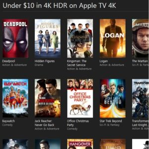 itunes black friday movie sales collection