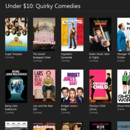 iTunes movie deals during Cyber Monday week.