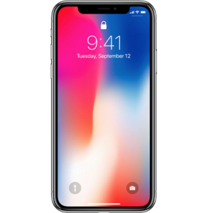 locked iphone x