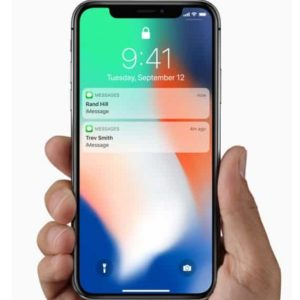 locked iPhone x hiding message notifications