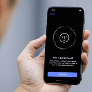 setting up face id for quick unlocks