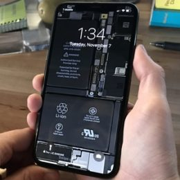 spectacular iphone x internals wallpaper