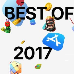 App Store Best of 2017 apps and games.