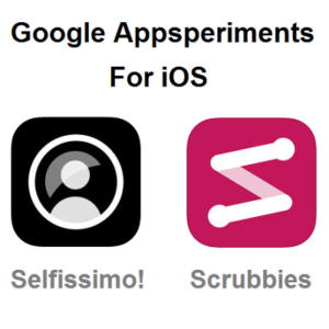 Google Appsperiments for iOS.