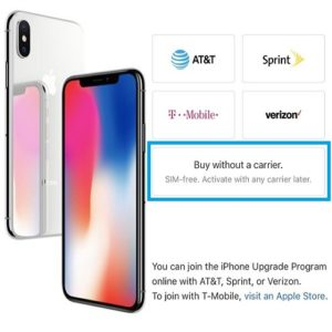 How to buy a SIM-free iPhone X.
