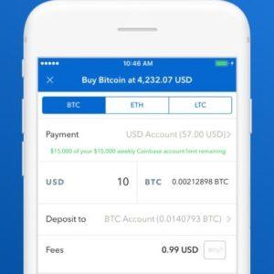 How to buy Bitcoin via Coinbase on iPhone.