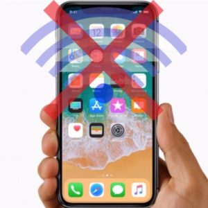 iPhone X Wi-Fi problem