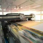 large oled display sheet during manufacturing