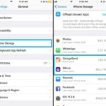 how to manually offload apps from iPhone
