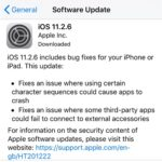 ios 11.2.6 software update