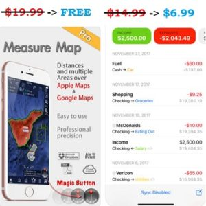 Measure Map Pro and Finances 2 sales.