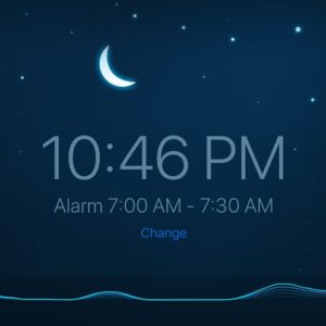 Sleep Cycle screen