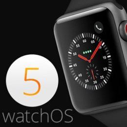 watchos 5 for apple watch