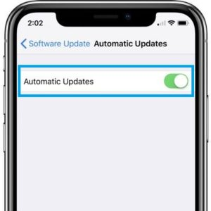 ios 12 automatic updates feature
