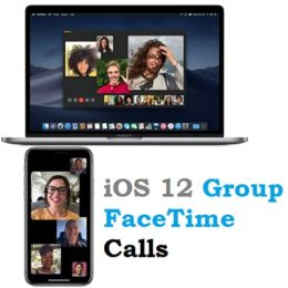 ios 12 group facetime call feature