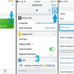 how to configure siri for spotify shortcut