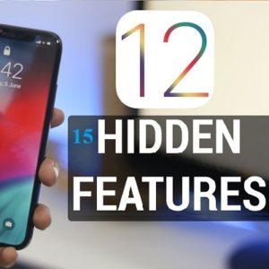 ios 12 hidden features
