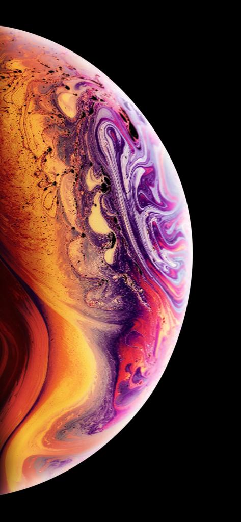 iphone xs soap bubble wallpaper