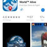 jurassic world alive app store download