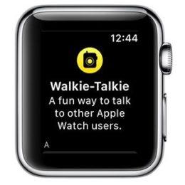 watchos 5 walkie-talkie app