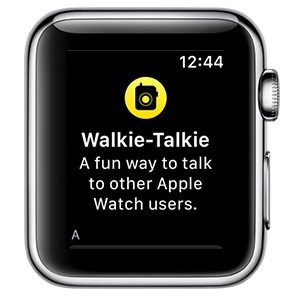 watchOS 5 Walkie-Talkie app