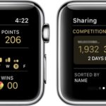 how to check activity competition status on apple watch
