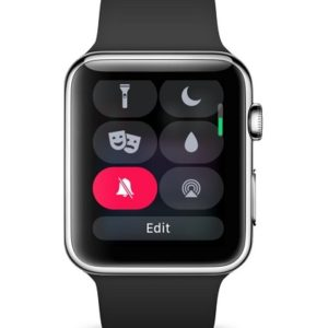 How to edit watchOS 5 Control Center