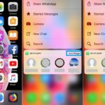 how to enable app widget with 3d touch