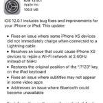 ios 12.0.1 software update screen