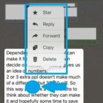 long-press whatsapp message for extra options