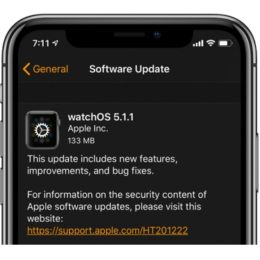 watchOS 5.1.1 Software Update