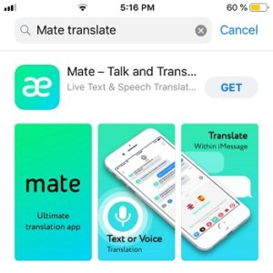 Mate Talk and Translate gone free