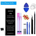 aftermaket iPhone 5s 5c battery replacement kit