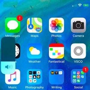 iOS 13 new Volume Indicator